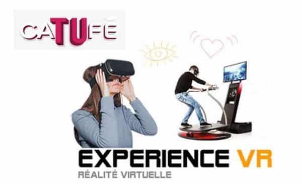 Sessions de réalité virtuelle à CaTUfé moins chères