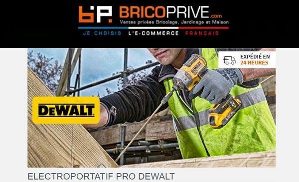 Vente privée outils électroportatifs Pro DEWALT