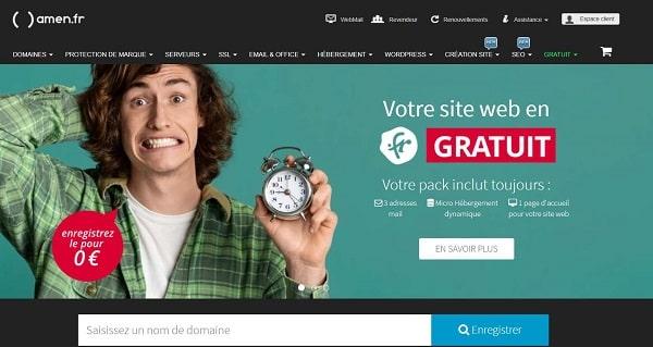 webmaster un site web en .fr gratuit