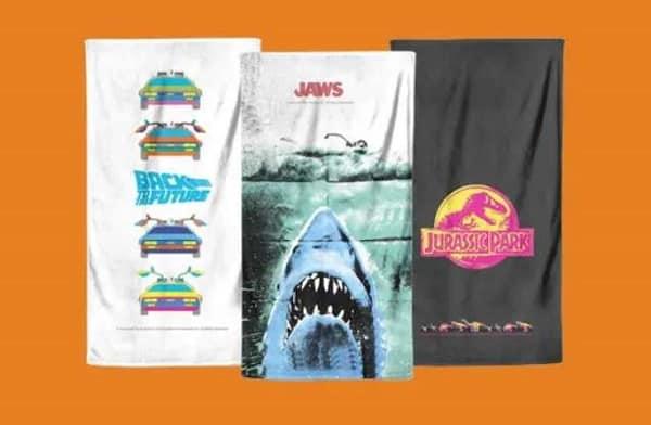 produits dérivés 1 serviette de plage achetée = 1 serviette de plage gratuite