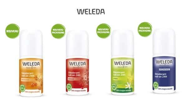 remise sur tous les déodorants weleda code promo