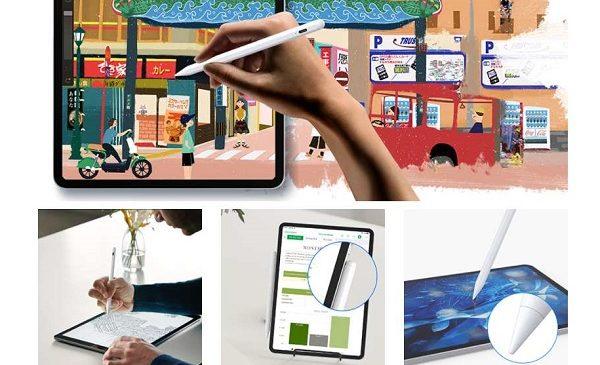 13,49€ stylet tactileIpadCiSiRUN (compatible iPad Pro 2020 et 2018, iPad 2019 (7e gén.), iPad 2018 9,7″ (6egén.), iPad Air (3egén.), iPad Mini (5egén.)