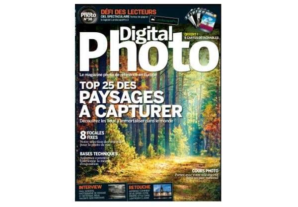 abonnement au magazine digital photo pas cher