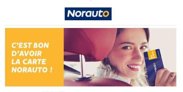Bénéficiez de 10€ de remise dès 100€ d'achat en prenant la carte de fidélité de Norauto