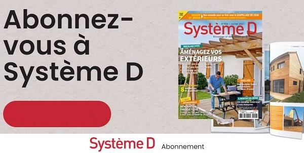 Offre abonnement intégrale à Système D