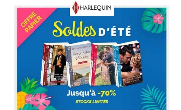 soldes éditions Harlequin