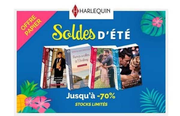soldes editions harlequin