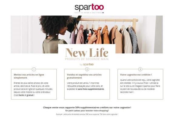Spartoo New Life : le bon plan pour vendre vos anciens vêtements, chaussures et accessoires mode