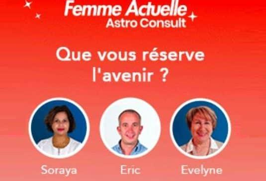 remise sur Femme Actuelle Astro Consult (voyance, astrologie, cartomancie..