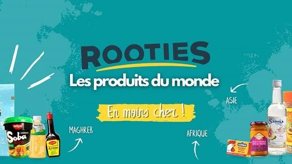 10€ de réduction sur l'adhésion annuelle rooties l'épicerie en ligne de produits du monde