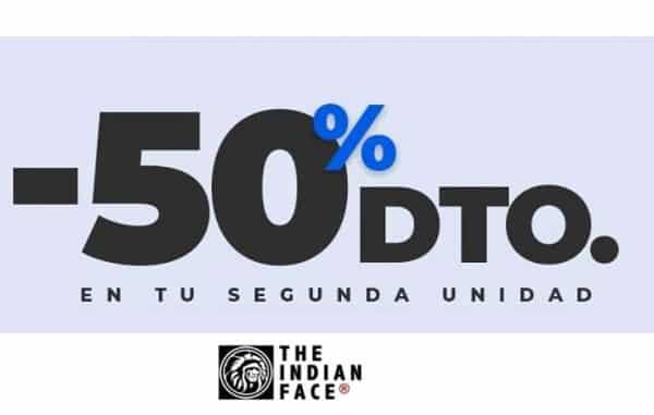 50% de remise sur la seconde paire de lunette de soleil the indian face
