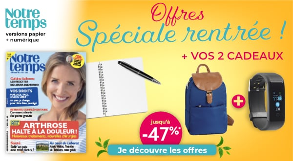 Abonnement magazine Notre Temps pas cher