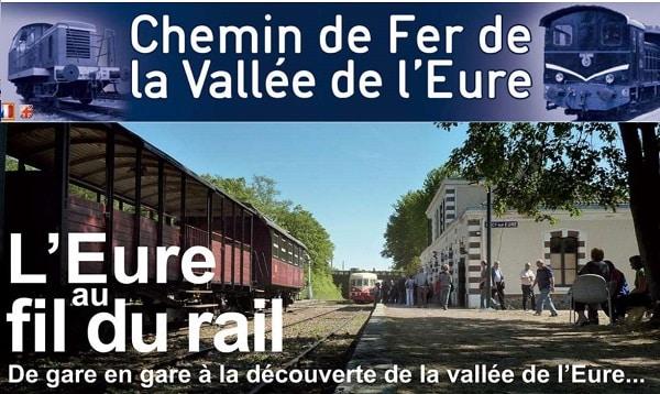 billet de train touristique du chemin de fer de la vallée de l'eure moins cher
