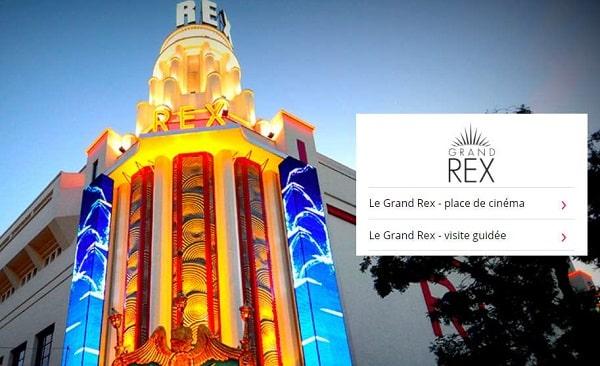Offre spéciale Le Grand Rex Paris : visite guidée ou place de cinéma à tarif réduit en vente privée
