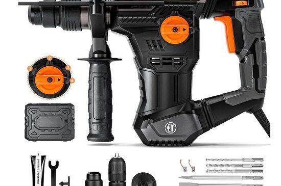 Perforateur Burineur 1050W TRH02A avec coffret et accessoires
