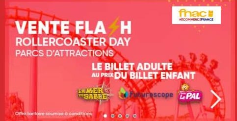 rollercoaster day fnac spectacles