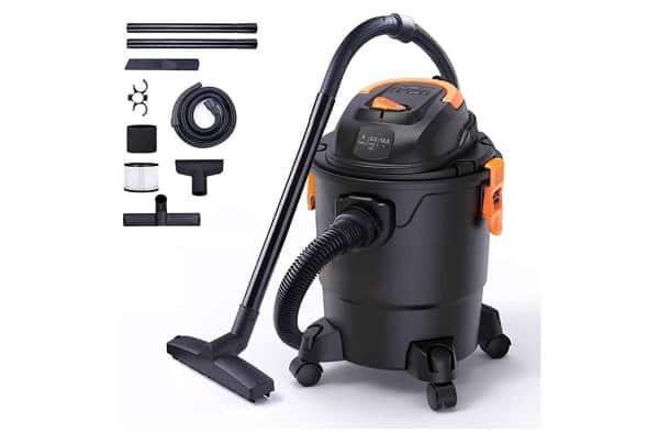 aspirateur eau et poussière avec fonction soufflant 1000 w 3 en 1 tacklife