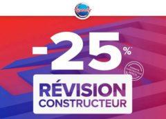 Entretien auto : 25% de remise immédiate sur la révision Constructeur sur Speedy