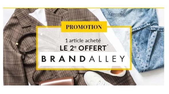 second offert sur une vente privée brandalley