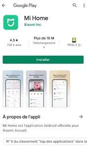 App mi home Xaomi pour Dreame