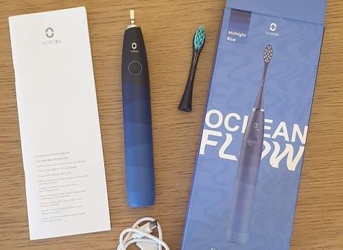 contenu emballage brosse Oclean Flow