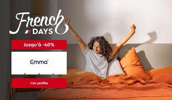 French Days Emma Matelas