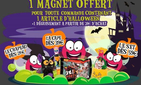 Halloween avec les bonbons Fizzy