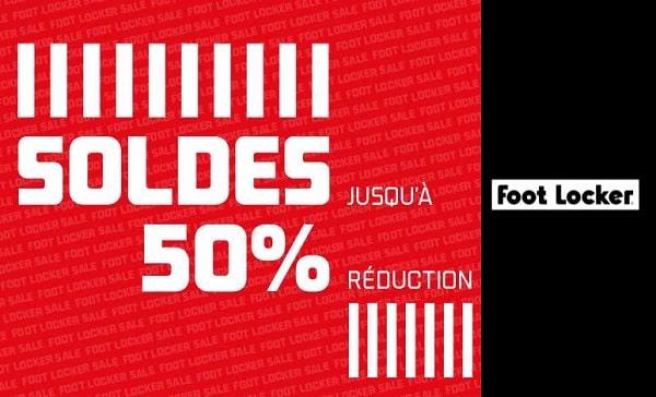Jusqu'à 50 % de réduction sur les articles dans les soldes de Foot Locker