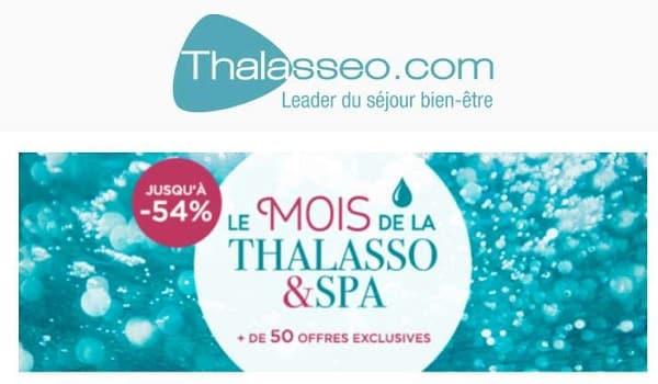 Le Mois de la thalasso : jusqu'à -53% de remise sur les séjours bien-être et SPA de Thalasseo
