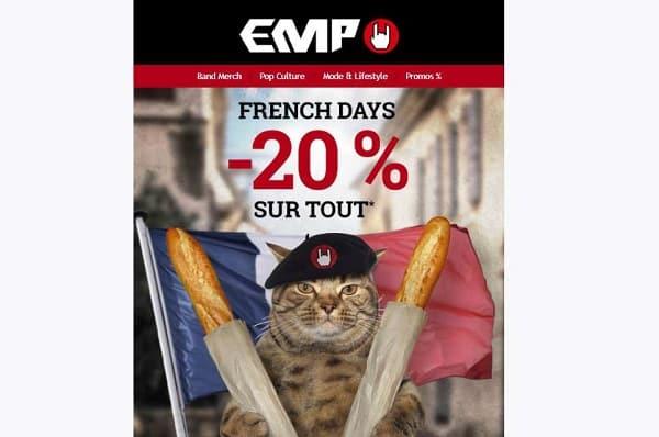 Les French Days de EMP