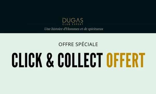 Livraison gratuite en Click & Collect chez 500 cavistes sur vos commandes d'alcool sur Dugas Club Expert