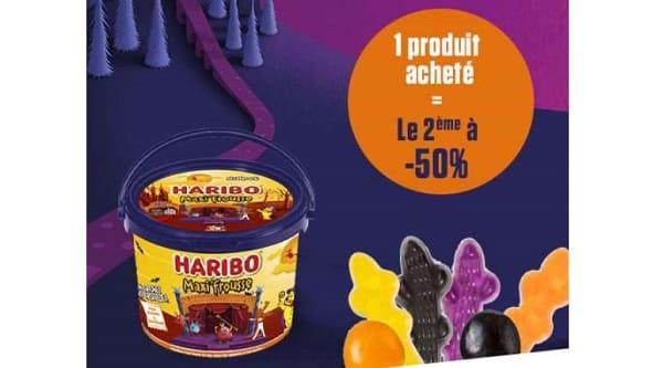 Offre Halloween Haribo