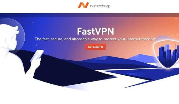 Offre spéciale FastVPN de Namecheap pas cher