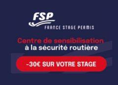 Récupérez vos points de permis pour moins cher avec 30% de remise sur les stages de récupération de France Stage Permis