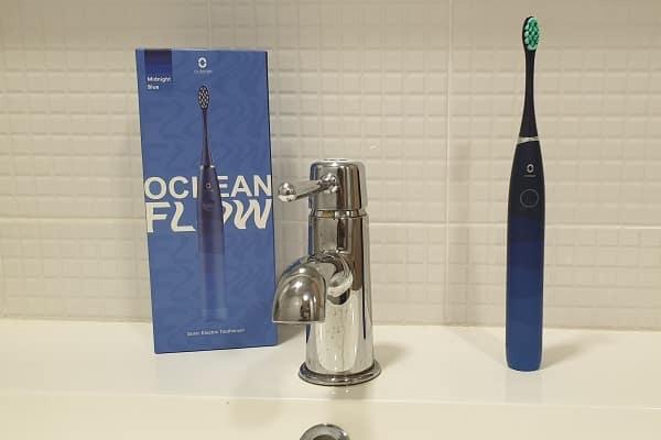 TEST de la brosse à dents électrique Oclean Flow