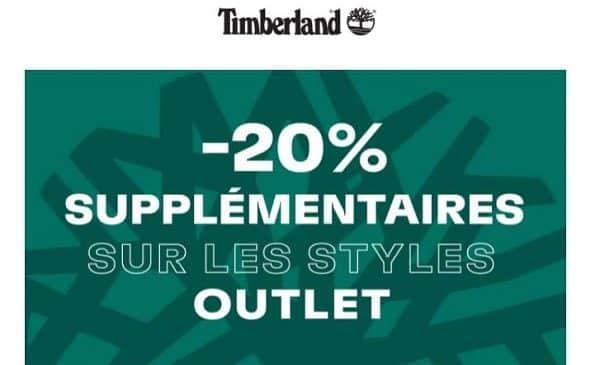 timberland outlet 20% supplémentaire dès deux articles achetés