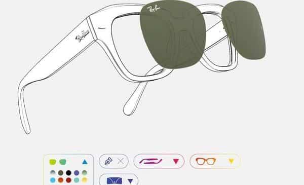 réduction sur les lunettes personnalisés sur ray ban