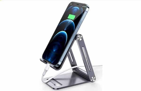 support de bureau pour smartphone en aluminium ugreen