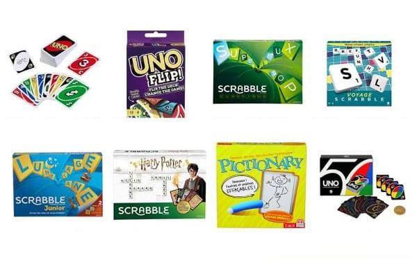 2 jeux Mattel Games achetés sur AMAZON = le 3ème offert