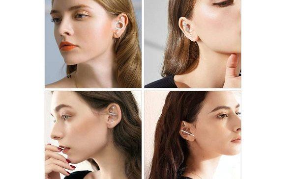 6 paires de boucles d'oreilles à crochetmakone