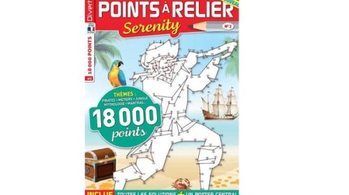 Abonnement magazine Points à relier Serenity pas cher