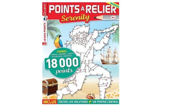 Abonnement magazine Points à relier Serenity pas cher : 14€ l'année (4N°) au lieu de 26€