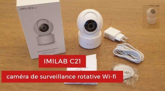 caméra de sécurité imilab c21