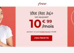 Forfait Série Free 80Go : 10,99€ avec les Appels, SMS et MMS illimités + Free Ligue 1 Accès premium