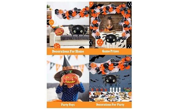 kit arche de ballons halloween yumcute