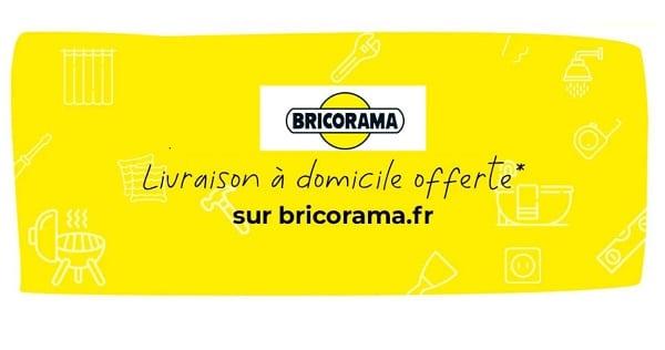 Livraison domicile offerte sur vos commandes Bricorama