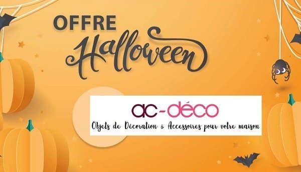 Offre Halloween : 15% de remise sur votre commande AC-Déco