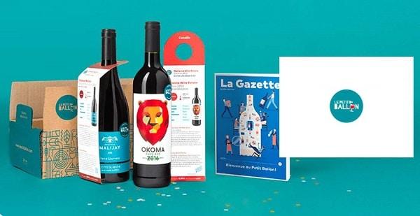 Offre abonnement box de vins 3 mois Le Petit Ballon moins cher