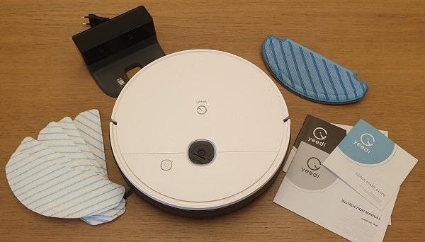 test du robot aspirateur et laveur yeedi vac max