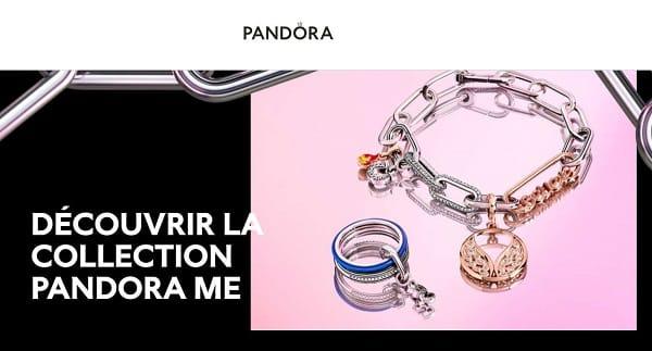 remise sur une création Pandora ME